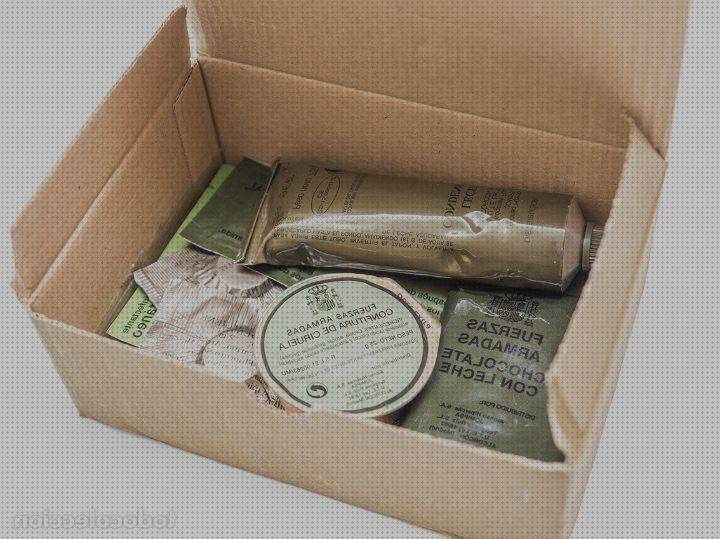 Review de kit de comida militar