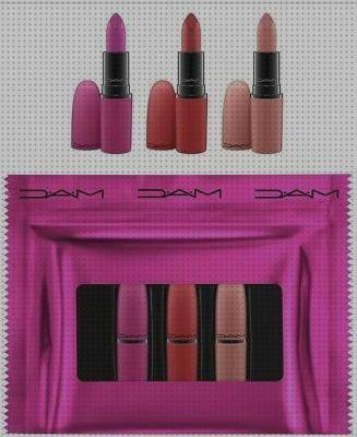 Todo sobre mac kit kit de pintalabios shiny pretty things de mac